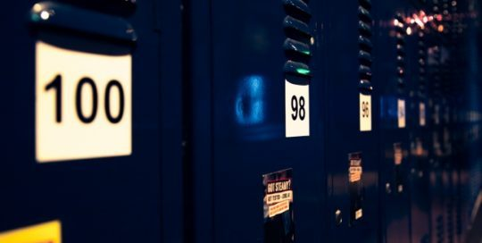 Lockers at 357 are monitored with security cameras 24/7. However, a lock only keeps honest people honest so we have a safe at reception for any valuables. Please ask our friendly staff at reception for assistance with this.