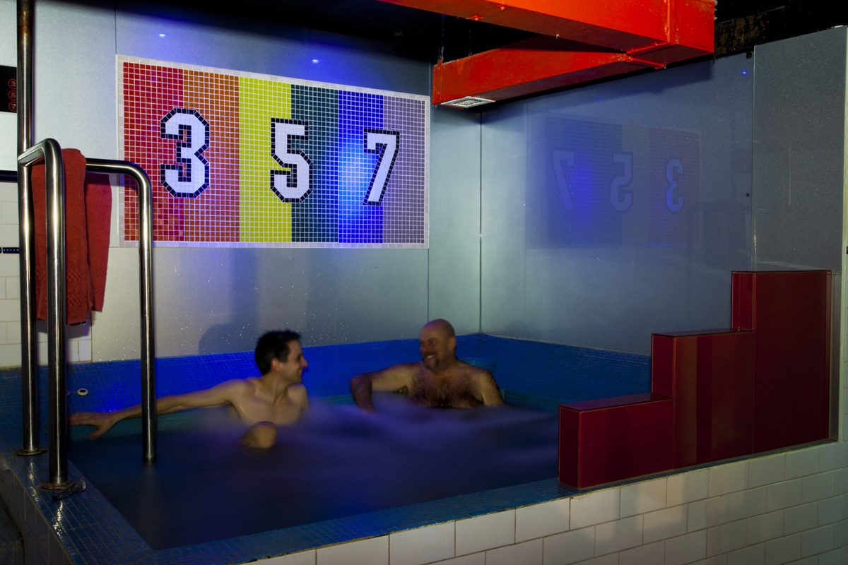 357's very popular and huge spa. Always clean, always fresh. Our spa is checked daily to ensure correct levels of chlorine and cleanliness. The water is changed regularly too.